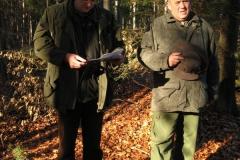 Vyhlášení výsledků v lese