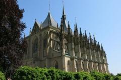 Chrám sv. Barbory zblízka