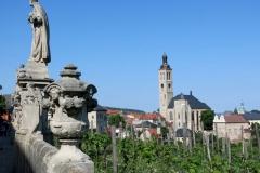 Výhled od chrámu sv. Barbory